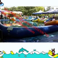 Buy cheap inflatable water slide pool inflatable bumper cars water pool from wholesalers
