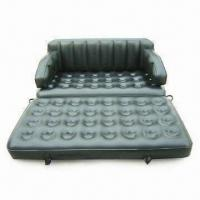 Wholesale 5-in-1 Inflatable Sofa Bed with 0.4mm PVC Thickness, Available in Single Size from china suppliers