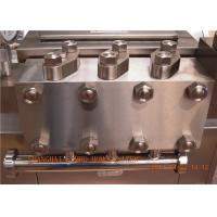Buy cheap UHT Plant High Efficiency Ice Cream Homogenizer 2 stage handle type from wholesalers