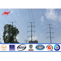 Buy cheap polygonal or conicla high voltage Electrical Power Pole for transmission line from wholesalers