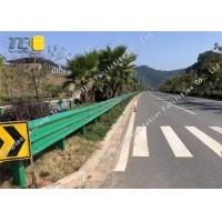 Buy cheap Stainless Steel Thrie Beam Crash Barrier Flex Beam Guardrail Wear Resistant from wholesalers
