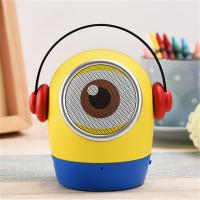 Buy cheap Minions JYWT Creative Bluetooth Speakers Hands Free MP3 Player MIC TF USB Toy from wholesalers