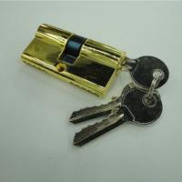 Wholesale 60mm Double Zinc Cylinder with 3 iron normal keys GP color from china suppliers