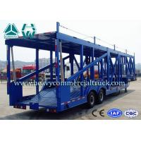 Buy cheap Long Distance Auto Hauling Trailers For Transporting Cars Enclosed Vehicle Transport from wholesalers