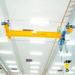 Buy cheap 31.5m Span Cable Hoist Overhead Bridge Crane 10t Lifting from wholesalers