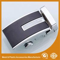 Wholesale Embossing Automatic Custom Belt Buckle Gold Plated / Silver Plated from china suppliers