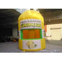 Wholesale Yellow Oxford Inflatable Lemonade Booth PLT-063 3 M Dia / 4 M Height from china suppliers