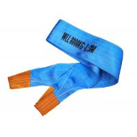 Buy cheap High temperature resistant flat kevlar Synthetic webbing lifting sling belt 8T from wholesalers