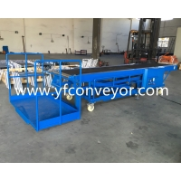 Wholesale A Standing Platform of Factory Price Truck Loading Conveyor/Customizable Truck Loading Unloading conveyor from china suppliers