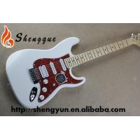 ShengQue White Color Electric Guitar ST Style Guitar Custom Made Guitars