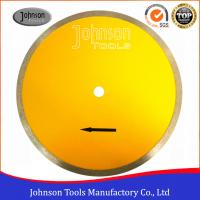 Buy cheap 350mm Ceramic Tile Saw Blades Diamond Sintered Continuous Saw Blade For from wholesalers