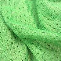 Wholesale 100% polyester dash mesh, warp knitted fabric, weighs 160gsm, suitable for sports and garments from china suppliers