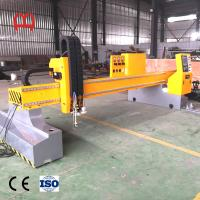 Buy cheap Low Noise Fiber Laser Pipe Cutting Machine Hypertherms Concise Appearance from wholesalers