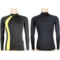 Buy cheap Men's Long Sleeve Slim Fit Lycra Full BodyLycra Rash Guard 2XL , M Sun Protection for Surfing from wholesalers