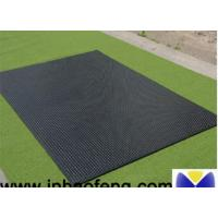 Buy cheap Black Cattle Mats Rubber Horse Stall Mats 12-25mm Thickness Anti Rust from wholesalers