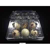 Buy cheap hot sells egg trays clear quail egg trays with 6 holes 2*3 holes PVC / PET / APET... quail egg container from wholesalers