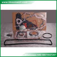 Buy cheap Cummins upper and lower gasket sets 3283333 3804896 3802375 digger engine overhaul repair kits for 4BT.3.9 of Excavator from wholesalers