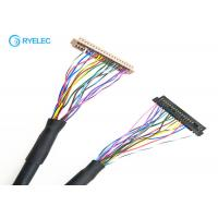 Buy cheap Hirose 40 Pin DF13 Connector LVDS Cable Assembly To JAE Hirose FI - S20S 1.25mm Connector from wholesalers