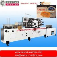 Buy cheap Automatic offset printing machine for plastic lid/cover/tray/plate from wholesalers