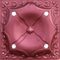 Wholesale Red Decorative Interior Wall Paneling Metal Texture Panels Flexible from china suppliers