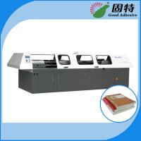 Buy cheap Hot Melt Automatic Bookbinding Machine , Perfect Binder Bookbinding Machine from wholesalers