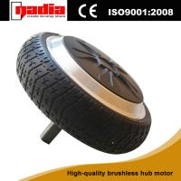 Buy cheap 6 inch BLDC brushless electric wheel hub motor for balance car from wholesalers