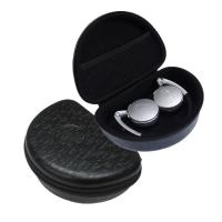 Buy cheap Foldable Headphone Protective Case , Black EVA Foam Earbud Carrying Case product