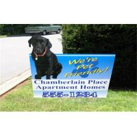 Buy cheap Full Color Printing Yard Signs  from wholesalers
