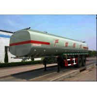 Buy cheap 30000L 2 Axle Steel Chemical Liquid Tank Truck Transport Gas / Diesel from wholesalers
