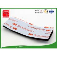 Wholesale Strong Adhesive Hook and Loop Tape / Magic Custom Hook And Loop Patches With 3m Glue from china suppliers