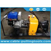 Buy cheap 8T Petrol Powered Winch For Cable Pulling Project Overhead Line Transmission from wholesalers