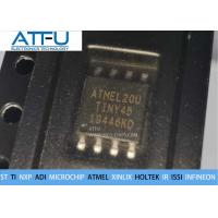 Buy cheap ATTINY45-20SU Atmel 8 Bit MCU Chips AVR Microcontroller 2/4/8K Bytes In System Programmable Flash product