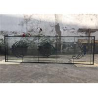 Buy cheap Tempered Sliding Glass DoorPowder Coated Smooth Surface 25.4 Mm Thickness from wholesalers