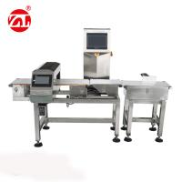 Buy cheap Food Combined Conveyor Metal Detector , 304 Stainless Steel Weight Check Machine from wholesalers