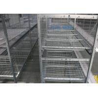 Buy cheap Environmental Friendly Poultry Cage Equipment Customized Size Management Easily from wholesalers