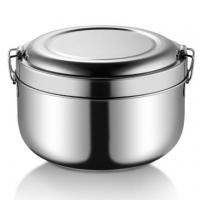 Buy cheap Leak Proof Round Stainless Steel Lunch Box Food Storage Healthy Bento Box from wholesalers