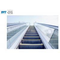Buy cheap Glass / Stainless Steel Balustrade Outdoor Escalator With Comb Plate Safety Devices from wholesalers