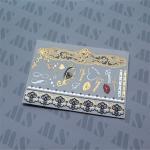 Buy cheap Gold glitter tattoo, tattoo flash, sticker tattoo, shimmer tattoo from wholesalers