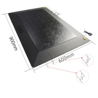 Buy cheap Cleanroom 0.5KG 25mm Synthetic EPDM Foam ESD Rubber Mat from wholesalers