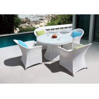 Buy cheap Outdoor furniture textilene dining table and chair (D572 & S272) from wholesalers