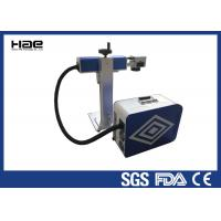 Buy cheap 0 - 100 KHz Fiber Laser Marking Machine For Animal Ear Tags / Auto Parts from wholesalers