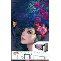 Buy cheap Flags / Banner Digital Printer 3.2m Printing Width With Three Epson 4720 Heads from wholesalers