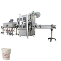 Buy cheap Higee cup wholesale shrink sleeve labeling machine ice cream tubs shrink sleeve labeling machine from wholesalers