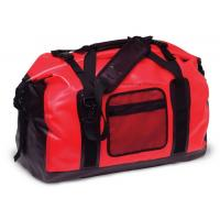 Buy cheap 65L Red Tarpaulin Waterproof Duffel Bag 1.3KG Weight For Cycling And Hiking from wholesalers