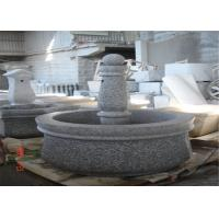 Buy cheap Natural Veins Decorative Landscaping Stone For Park Outdoor Granite Fountain from wholesalers