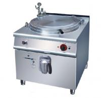 Buy cheap Gas Indirect Jacketed Boiling Pan , Stainless Steel Marine Cooking Equipment from wholesalers