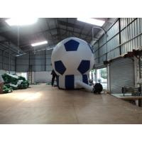 Buy cheap 420D Oxford Fabric Inflatable Advertising Balloons / Football Floor Lamp from wholesalers