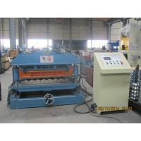 1219mm Exhibition Center Roof Tile Roll Forming Machine 0.4mm - 0.6mm