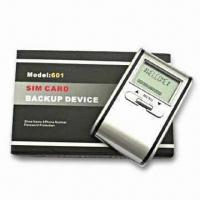 Buy cheap SIM Card Backup Device with 1,000 Phone Records Storage from wholesalers