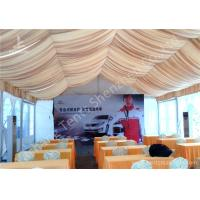 China Roof Lining PVC Fabric Cover Outdoor Aluminum Profile Car Exhibition Tent on sale